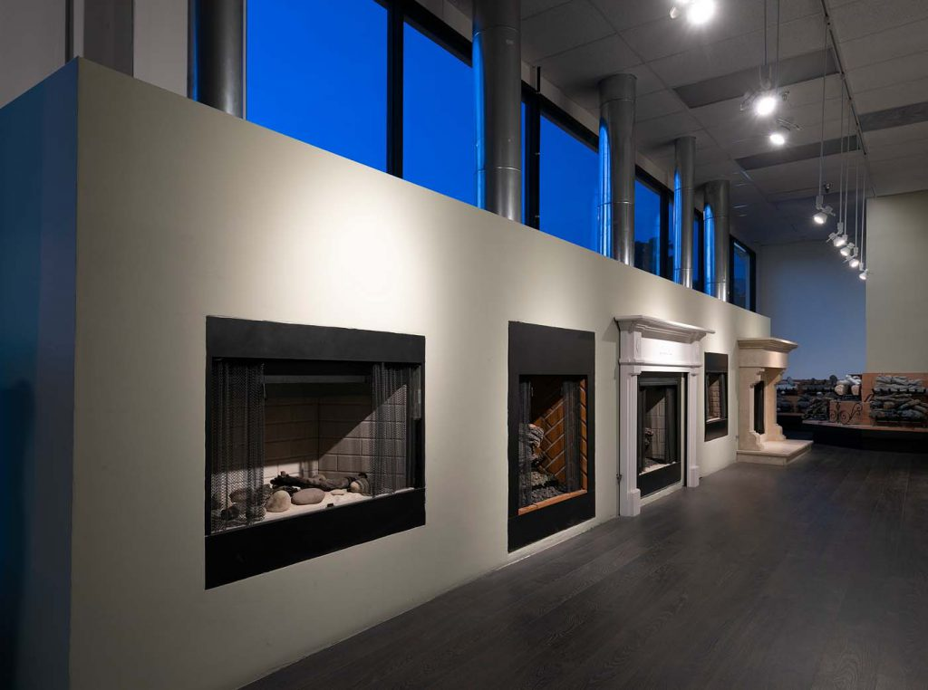 Come explore our extensive selection of working fireplaces