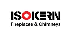 isokern fireplaces logo