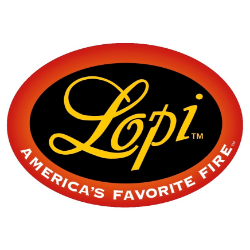 lopi fireplaces logo