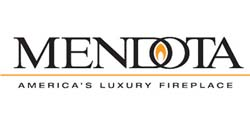 mendota fireplaces logo